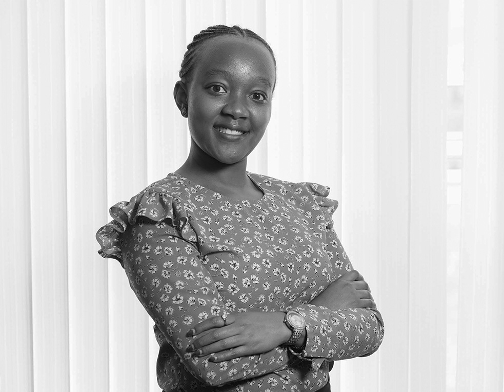 Angela Wanja - Account Manager - Global Exhibitions Incorporated Limited BW