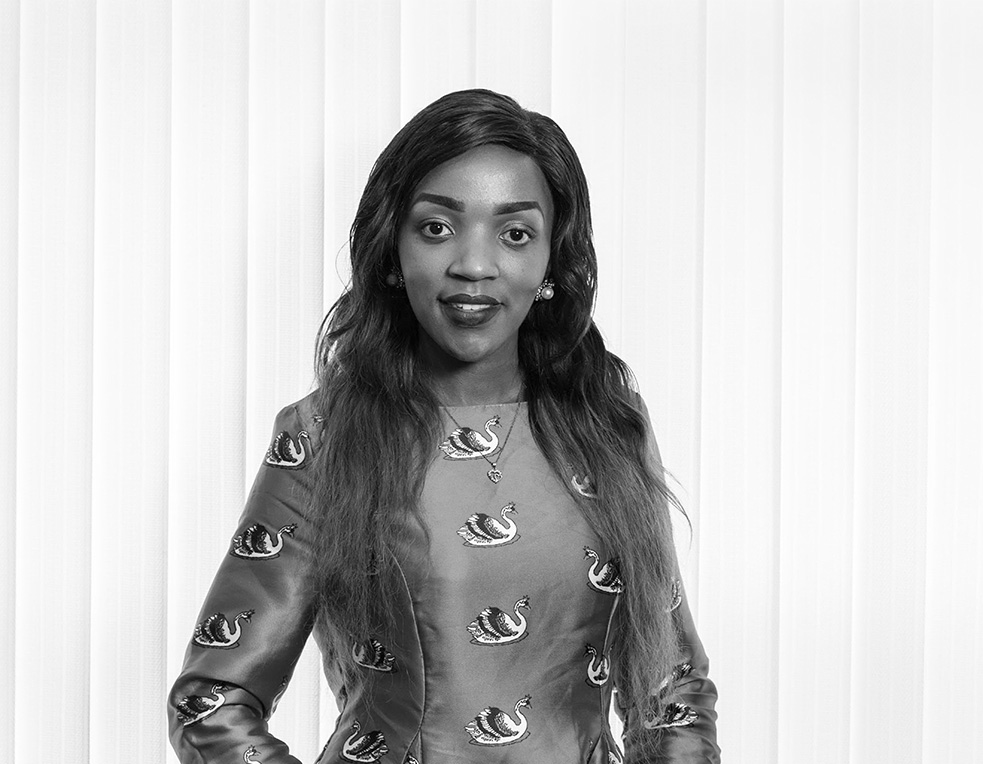 Connie Majala - Account Manager - Global Exhibitions Incorporated Limited BW
