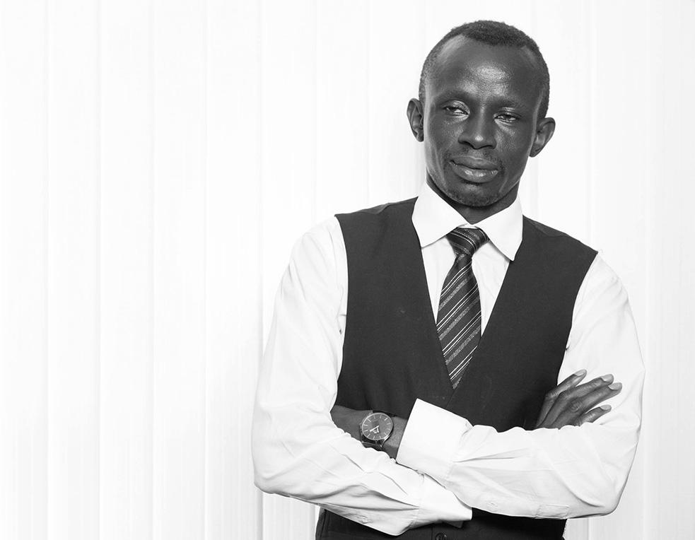Emmanuel Okudo - Graphic Designer - Global Exhibitions Incorporated Limited BW