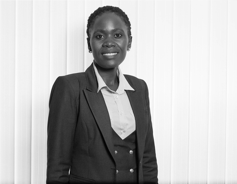 Florence Kakai - Office Assistant - Global Exhibitions Incorporated Limited BW